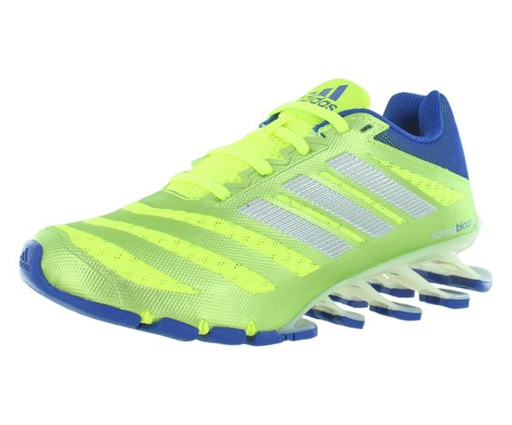 Adidas Springblade Ignite Boys Running Shoes Size US Regular Width, Color  Lime/Silver/Blue. Adidas. Boys. Athletic. Solar Yellow / Silver Metallic ...