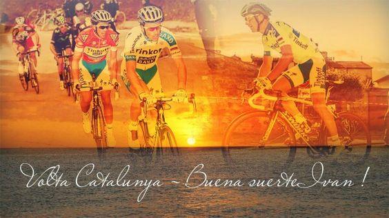 - Le Tour de Catalogne débute ce lundi...Bonne chance Champion !   - Il Giro di Catalogna comincia questo lunedì...In bocca al lupo Campione !    http://forzaivanofficiel.blog4ever.com/presentation-tour-de-catalogne-1