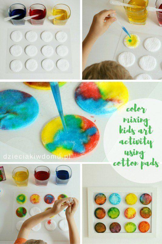 Mit Farben Experimentieren Spass Fur Kinder Montessori Art