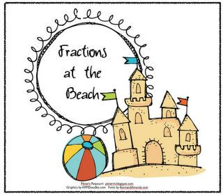 Pitner's Potpourri: Fractions at the Beach -- Freebie