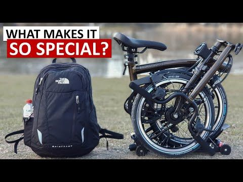 Long Term Review Of The Brompton Folding Bike What Makes It So Special Youtube In 2020 Brompton Folding Bike Bike