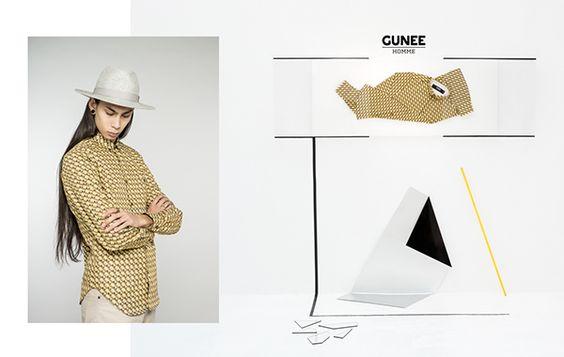 GUNEE HOMME | SS15 on Fashion Served