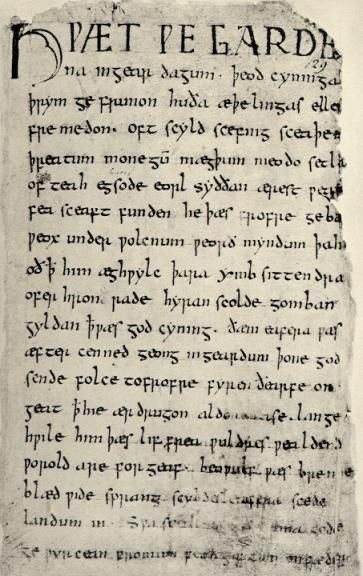 an analysis of the most important work of old english literature in the anglo saxon epic beowulf Although the hubris of beowulf is undoubtedly the most important aspect of the story, the progression of the epic relies heavily on the aspects of germanic warrior culture in which the epic takes place thus, understanding this society is essential to the story's analysis.