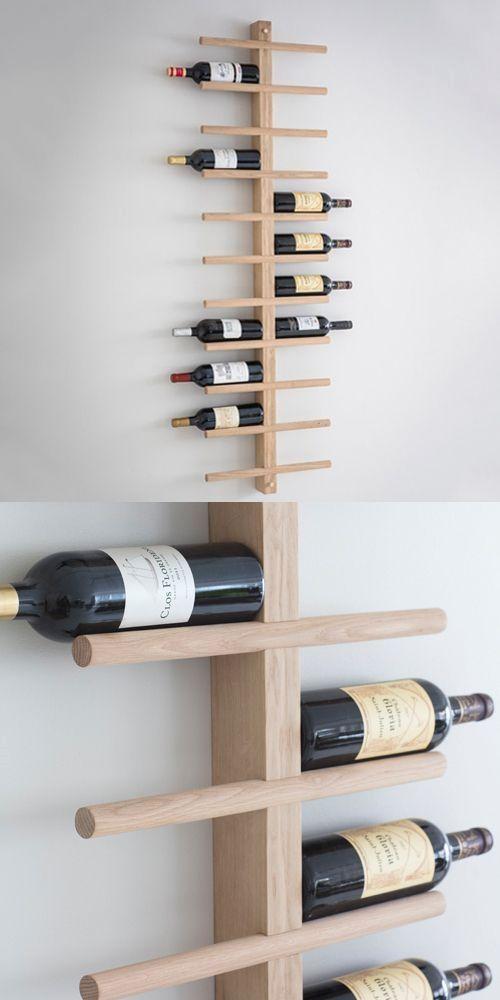 14 Diy Wine Racks Made Of Wood Diy Wine Rack Cool Wine Racks