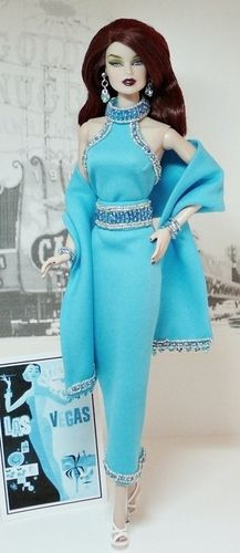 Great site to see beautiful work of art for Barbie clothes: Evening Glamour