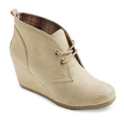 Image result for Target Tan Suede Booties