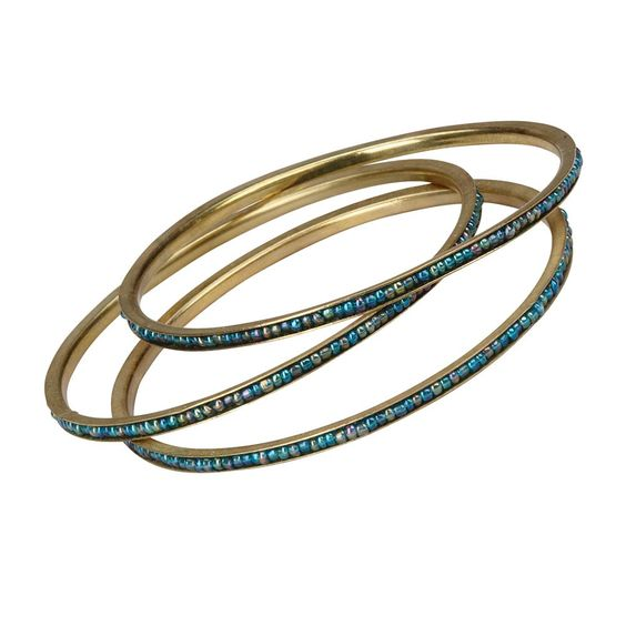 Blue Horizons Bangles #tenthousandvillages