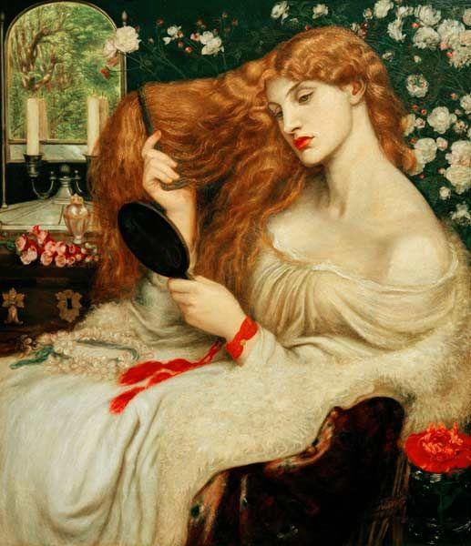 Dante Gabriel Rossetti - D.G.Rossetti, Lady Lilith