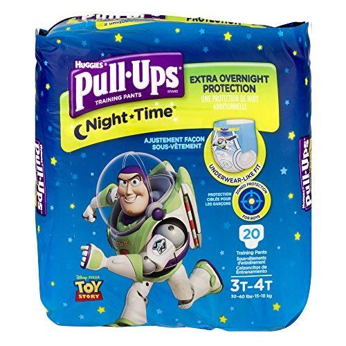 Huggies Pull Ups Nighttime Training Pants For Boys 20 Count