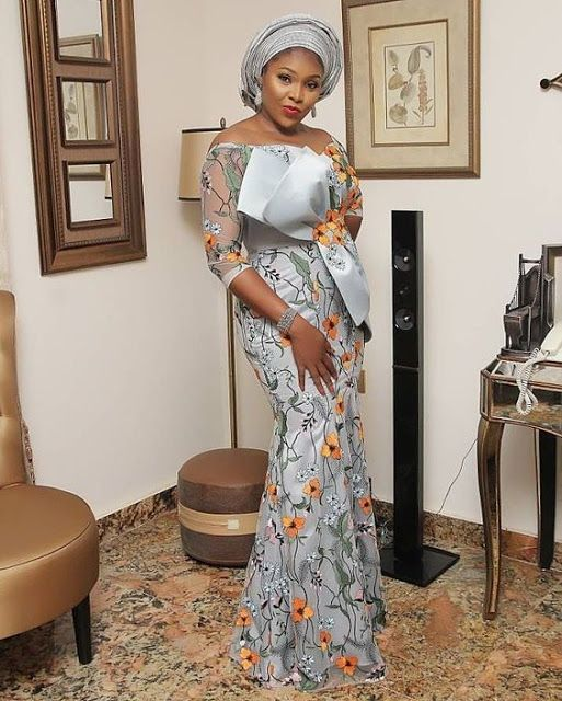 Latest Asoebi Lace Styles Lace Gown Styles Nigerian Lace Styles Lace Fashion