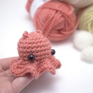 Octopus Amigurumi für Neugeborene mit bunten Tentakeln. Crochet ... | 320x320