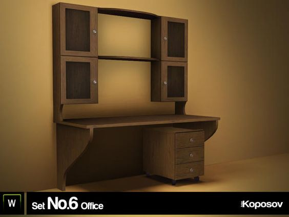 Koposov Set No.6 Office