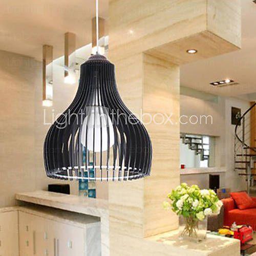 [BRL R$ 177,29] Modern breve uma luz Pingente Single-Head Restaurant Luz