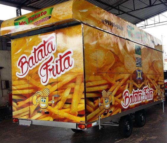 Fresquinho no mercado 5x2 Food truck Mr.Potato #foodtruck #foodtrailer #foodtruckbrasil #gourmet #comidaecarro #comidaderua #confeitaria #empreendedorismo by trailers_canteli_