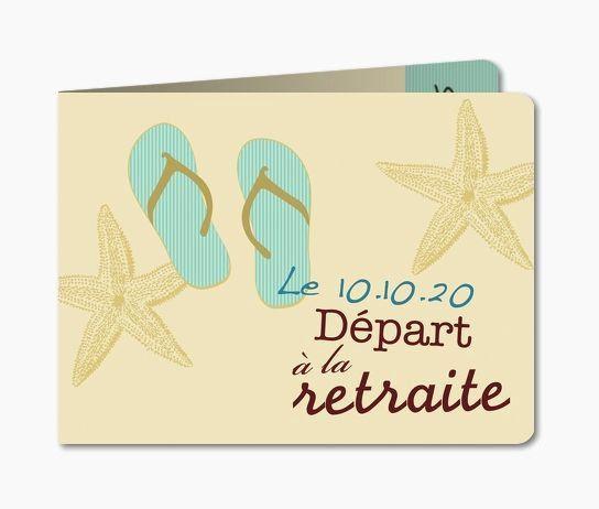 carte invitation retraite humoristique