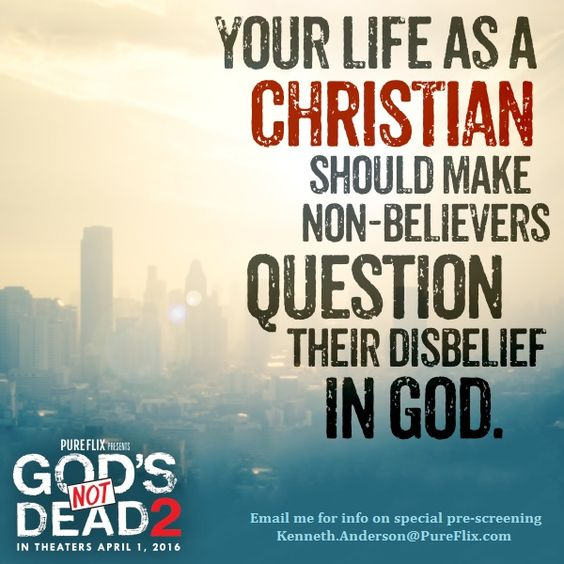 Gods not dead 2 is a great movie! I encourage everyone to watch it!