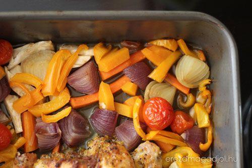 zöldség csirke diéta