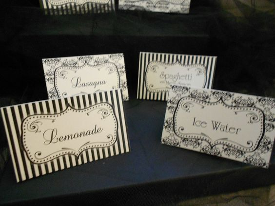 chapel decorated for wedding | CUSTOM DIY Printable Wedding / Shower Decorations - Buffet / Candy ...