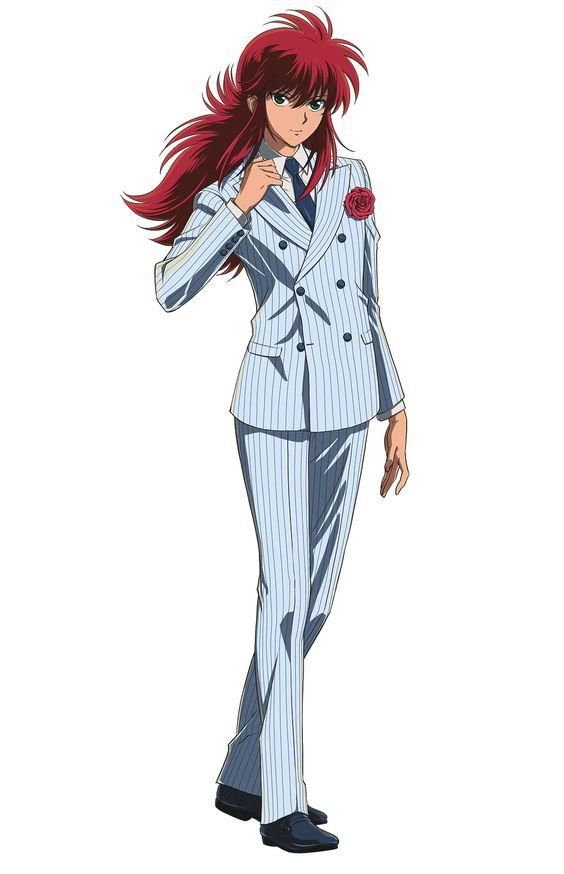 蔵馬 スーツ