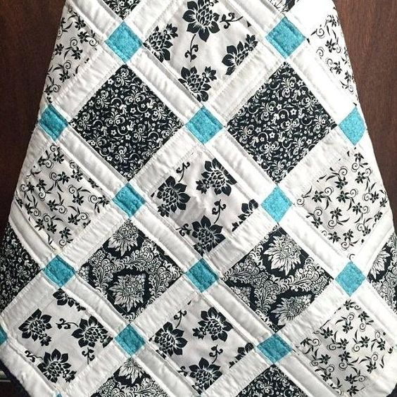 Black And White Coverlet King Black And White Striped Quilt