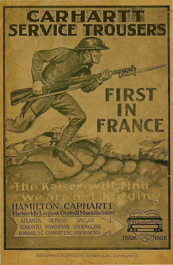 Carhartt Service Trousers, 1918
