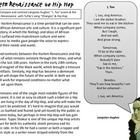 Compare and contrast hip hop and rock