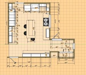 After Layout  http://www.clearchoiceflooranddesign.com/beighley-kitchen-remodel/