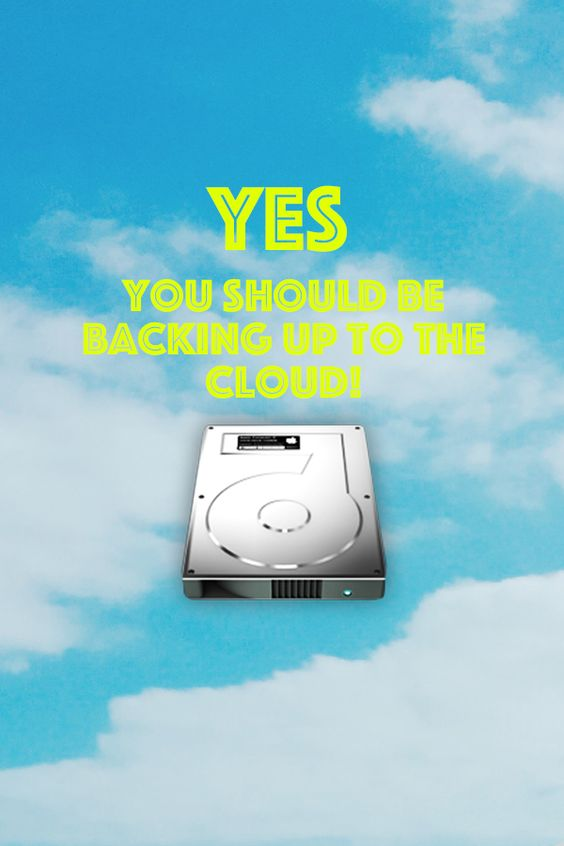 Should I back up to the cloud? Answers up on the blog simplyspaced.com