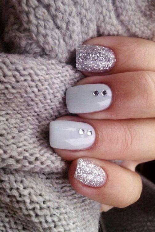 Winter Nails 2018 : winter, nails, Unique, Winter, Nails, Ideas, Bucket, Designs,, Nails,