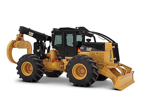 Cat Power Wheels Tractor : Cat c wheel skidder caterpillar if you build it