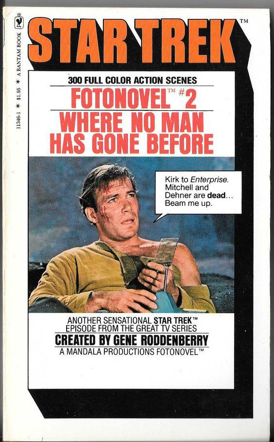Star Trek Fotonovel 2: Where No Man Has Gone Before
