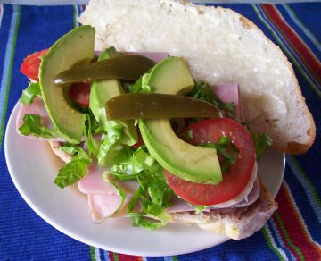 torta de jamon mexicanstyle ham sandwich recipe