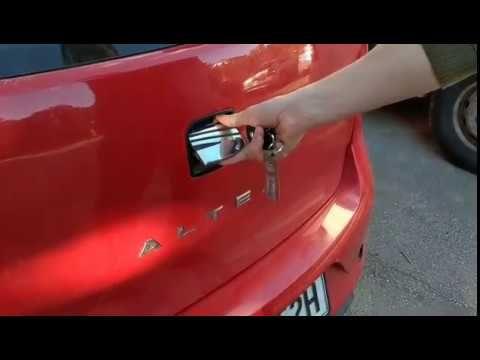 Seat Altea Boot Door Lock Not Working Try This Youtube Door Locks Altea Lock