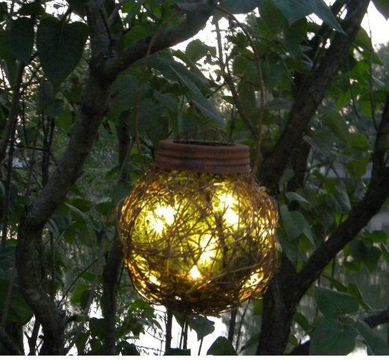 Outdoor Firefly Lantern