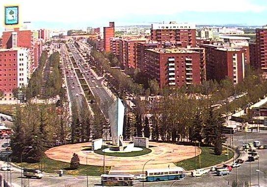 Plaza de Castilla 1970