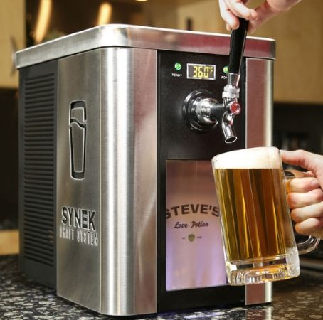 This Machine Is Like a Keurig But For Beer Offices, Ps and Coffee