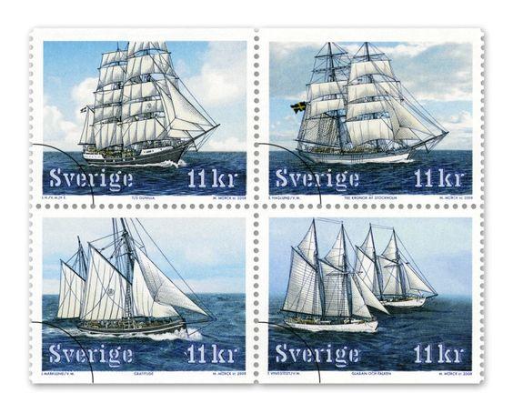 Post Stamps, Sweden
