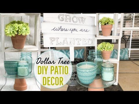 Dollar Tree Diy Outdoor Patio Decor Modern Farmhouse Spring Decor