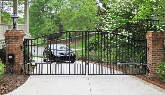 Mighty Mule   Driveway Gates   Mighty Mule   Automatic   Solar   Garden   Steel   Wrought Iron   Garden   Electric