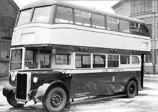 Crossley DD42 - Luton