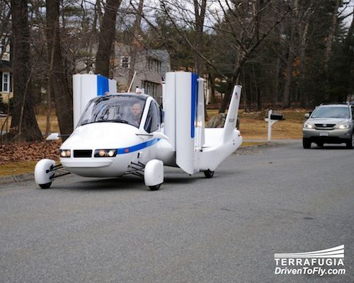 Coming Soon, The First Flying Car