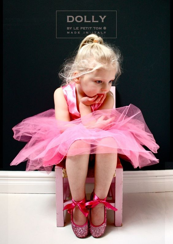 DOLLY by Le Petit Tom ® BALLET DRESS pink