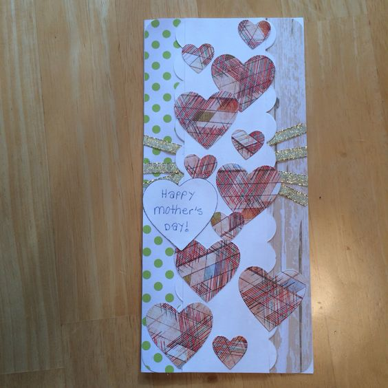 Rustic Mother's Day card - 2015
