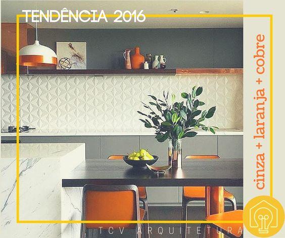 tendencia 2016: cinza + laranja + cobre #dicatcvarq