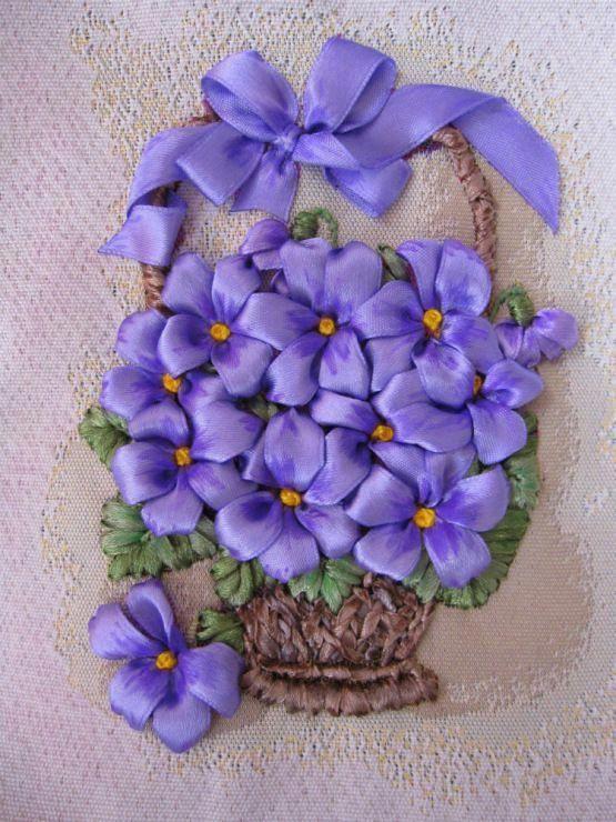 Yli Corporation Silk Embroidery Ribbon 4mm 5 Yds 100 51 129 Tutorial Bordado De Cintas Bordados En Cinta Bordado Cinta De Seda