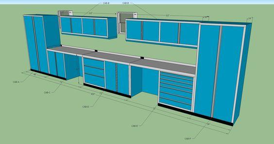 Custom garage cabinets http://www.carguygarage.com/item-guide-garage-cabinets.html