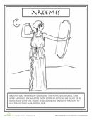 Greek gods coloring pages (Wk.3)