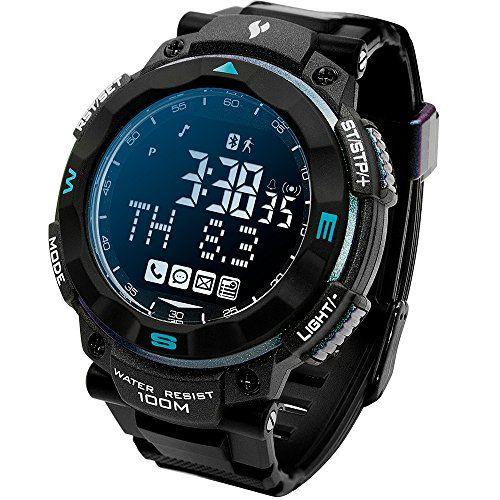Smart Waterproof Sports Outdoor Watch Fitness Exercise Pe