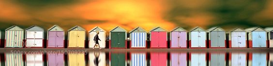 Beach huts by sollylevi. Please Like http://fb.me/go4photos and Follow @go4fotos Thank You. :-)