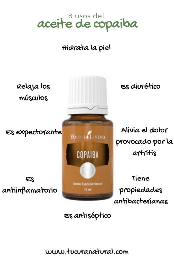 usos del aceite de copaiba